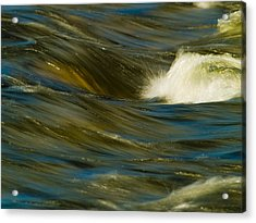 Water Play Acrylic Print by Bill Gallagher