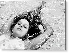 Water Portrait Acrylic Print