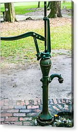 Water Pump  Acrylic Print by Steven  Taylor