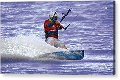 Water Rider Acrylic Print