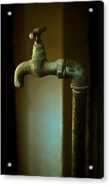 Water Sculpture Acrylic Print by Odd Jeppesen