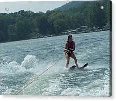 Water Skiing Is Fun Acrylic Print