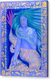 Water Spirit Acrylic Print by Diana Perfect