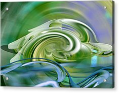 Water Sports - Abstract Art Acrylic Print