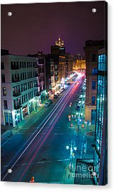 Water Street Zip Acrylic Print by Andrew Slater