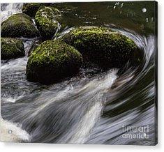 Water Swirl Acrylic Print