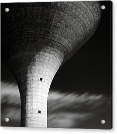 Water Tower Acrylic Print by Dave Bowman