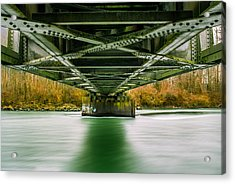 Water Under The Bridge Acrylic Print