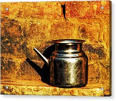 Water Vessel Acrylic Print by Prakash Ghai