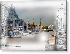 Water Way Buenos Aires Acrylic Print