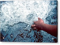 Acrylic Print featuring the photograph Water Within Reach by Kellice Swaggerty