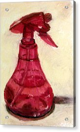 Waterbottle Acrylic Print by Donna Lee Hayes