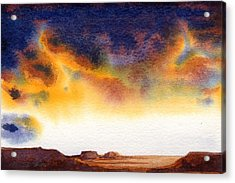 Acrylic Print featuring the painting Mesa by Konnie Kim