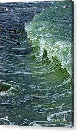 Watercolor Wave Acrylic Print