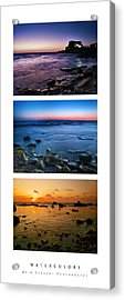 Acrylic Print featuring the photograph Watercolors by Meir Ezrachi