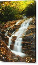 Waterfall @ Sams Branch Acrylic Print