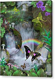 Waterfall Daydream Acrylic Print