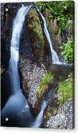 Waterfall Glen Etive Acrylic Print