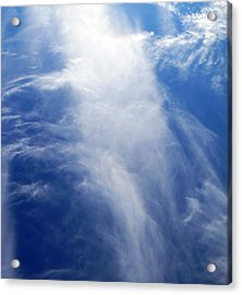 Waterfall In The Sky Acrylic Print by Belinda Lee