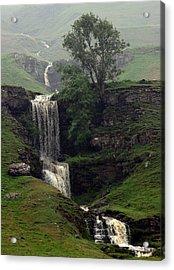 Waterfall Acrylic Print by John Topman