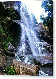 Waterfall  Acrylic Print by Kiara Reynolds