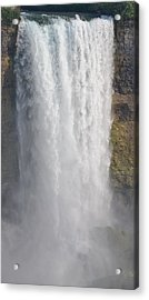 Waterfall Acrylic Print by Kiros Berhane