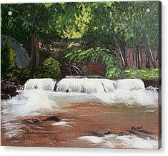 Waterfall Magic Acrylic Print