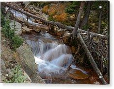 Waterfall Near Breckenridge Acrylic Print