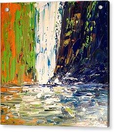 Waterfall No. 1 Acrylic Print