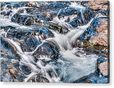 Waterfall On Mt. Rainier Acrylic Print by Chris McKenna