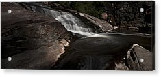 Waterfall Panoramic Acrylic Print by Michael Murphy