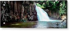 Waterfall, Rochester Falls, Mauritius Acrylic Print