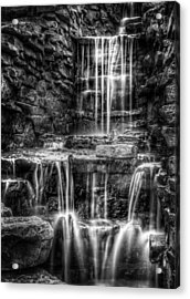 Waterfall Acrylic Print by Scott Norris