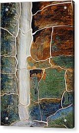 Waterfall Slate Acrylic Print