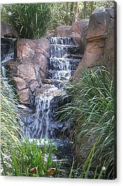 Waterfall Steps Acrylic Print