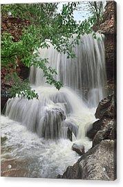 Waterfall Tanyard Creek Bella Vista Acrylic Print by Tim Fitzharris