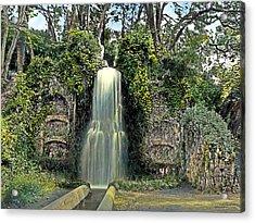 Waterfall Acrylic Print by Terry Reynoldson