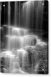 Waterfall Acrylic Print by Tony Cordoza