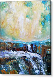 Waterfalls 2 Acrylic Print