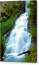 Waterfalls In Golden Gate Park Acrylic Print