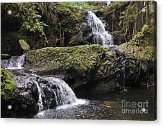 Waterfalls In Nature Acrylic Print