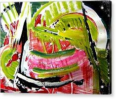 'watermelon' Acrylic Print by Carol Skinner
