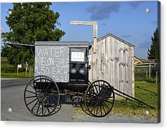 Watermelon Wagon Acrylic Print