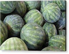 Watermelons Acrylic Print by Bradford Martin