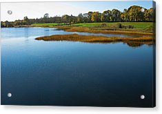 Acrylic Print featuring the photograph Water's Memories by Glenn DiPaola