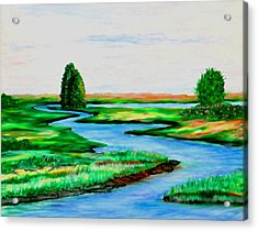 Waters Way Acrylic Print