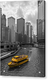 Watertaxi Acrylic Print by Clay Townsend