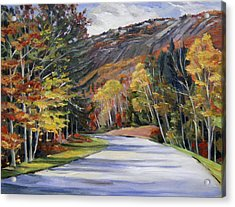 Waterville Road New Hampshire Acrylic Print