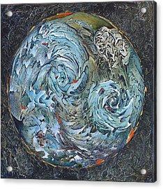 Waterworld Acrylic Print by Linda Carmel