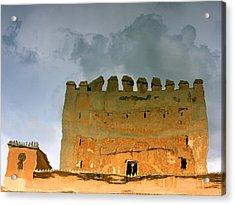Watery Alhambra Acrylic Print